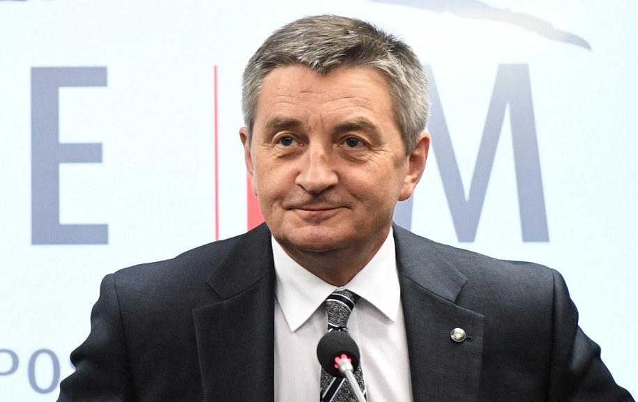 Marszałek Marek Kuchciński / Radek Pietruszka   /PAP