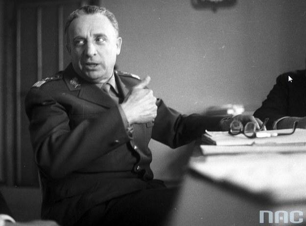 Marszałek Marian Spychalski. Zdjęcie z 1965 roku /Z archiwum Narodowego Archiwum Cyfrowego