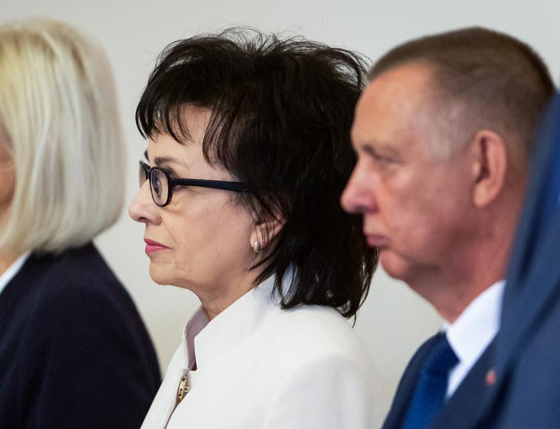 Marszałek Sejmu Elżbieta Witek i szef NIK Marian Banaś /Mateusz Wlodarczyk /Agencja FORUM
