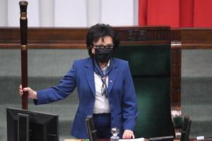 Marszałek Sejmu Elżbieta Witek z pytaniami do PKW i TK o wybory 2020