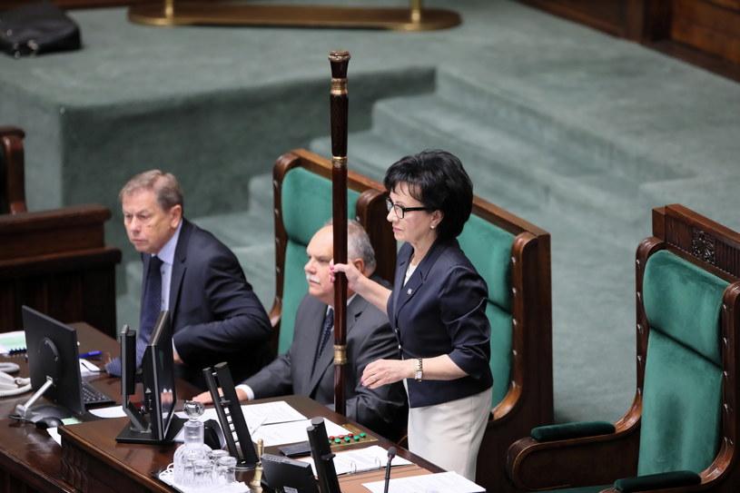 Marszałek Sejmu Elżbieta Witek / Leszek Szymański    /PAP