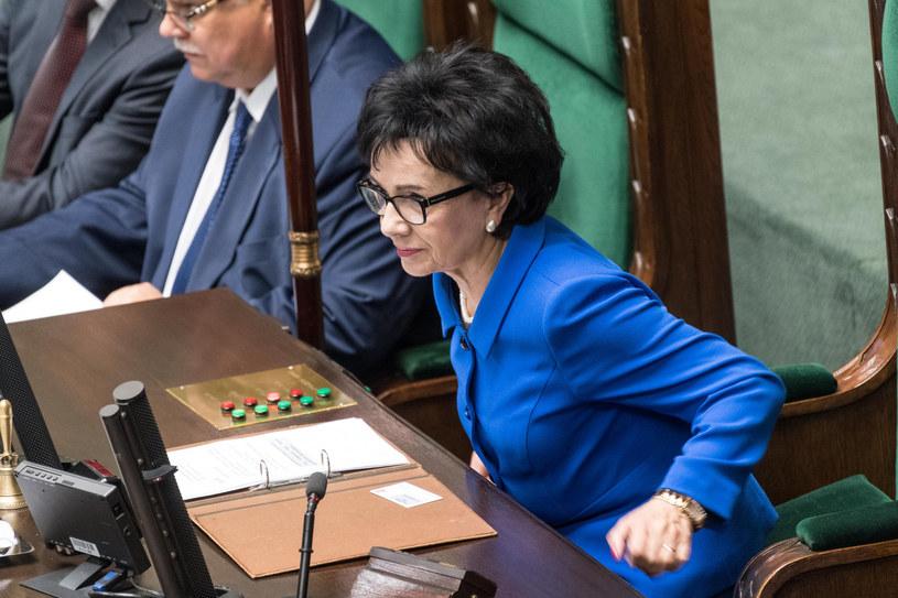 Marszałek Sejmu Elżbieta Witek /Jacek Dominski/REPORTER /Reporter