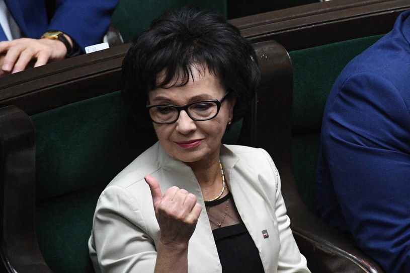 Marszałek Sejmu Elżbieta Witek / Radek Pietruszka   /PAP