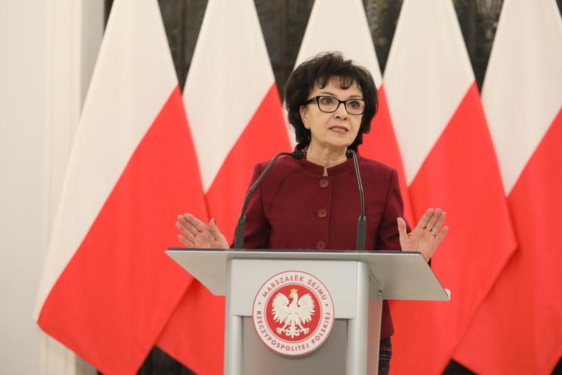 Marszałek Sejmu Elżbieta Witek / Jakub Kamiński    /East News
