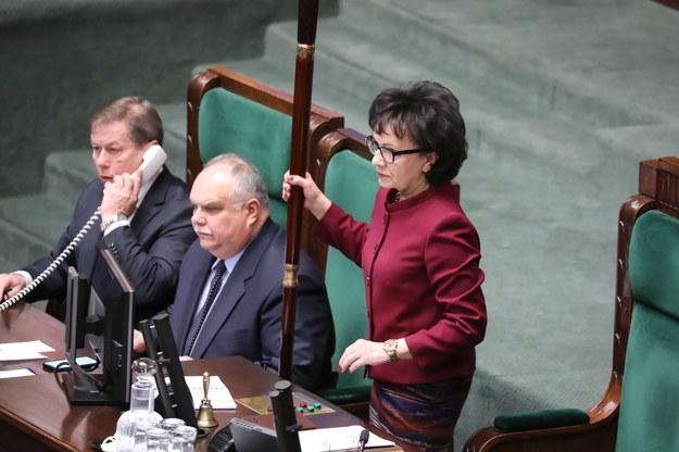 Marszałek Sejmu Elżbieta Witek / Tomasz Gzell    /PAP