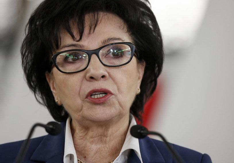 Marszałek Sejmu Elżbieta Witek /Jerzy Dudek /Agencja FORUM
