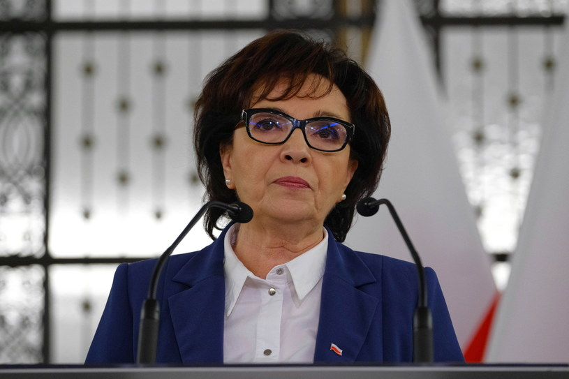 Marszałek Sejmu Elżbieta Witek /Mateusz Marek /PAP