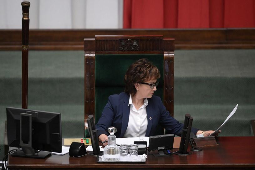 Marszałek Sejmu Elżbieta Witek / Marcin Obara  /PAP