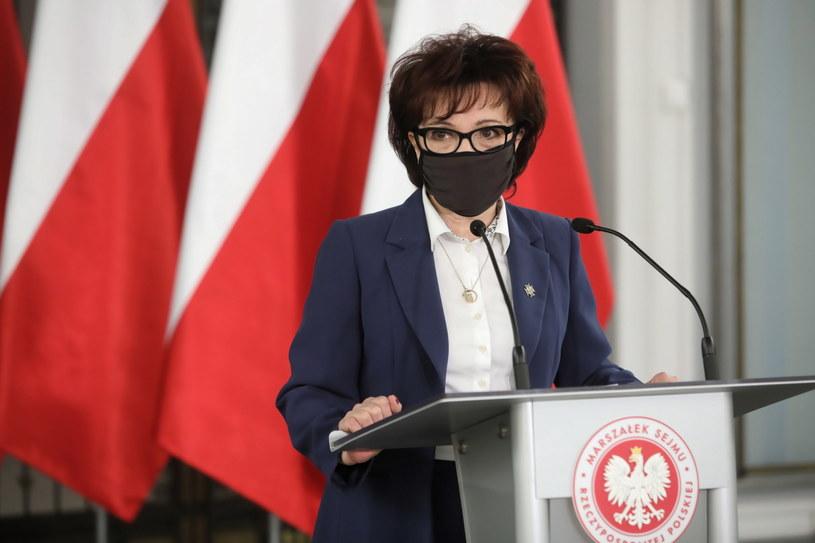 Marszałek Sejmu Elżbieta Witek /Wojciech Olkuśnik /PAP