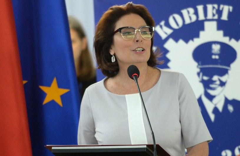 Marszałek Sejmu Małgorzata Kidawa-Błońska /Jacek Turczy /PAP