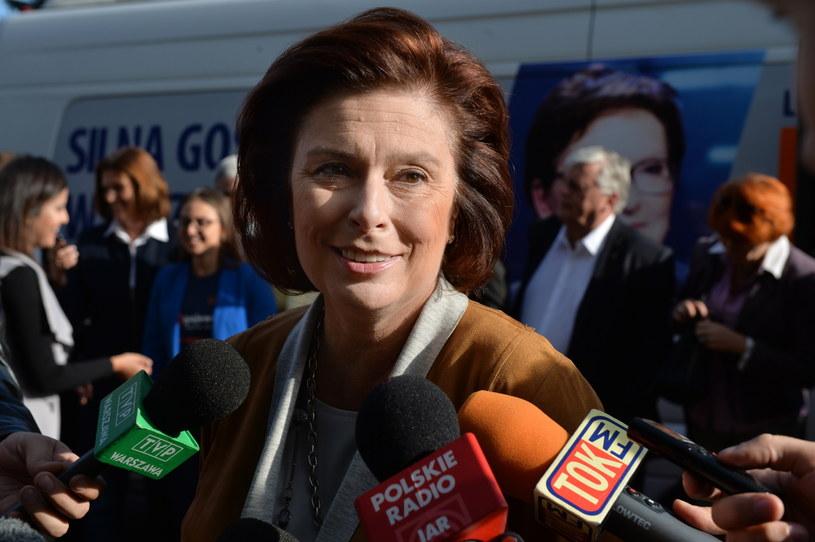 Marszałek Sejmu Małgorzata Kidawa-Błońska /Jacek Turczyk /PAP