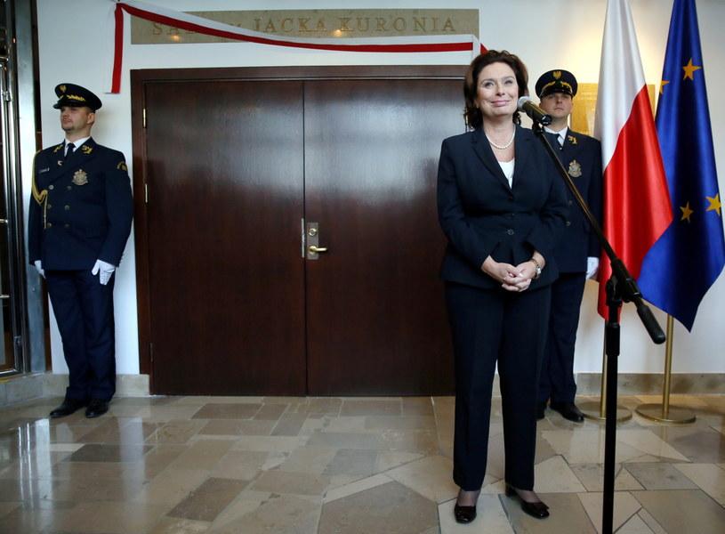 Marszałek Sejmu Małgorzata Kidawa-Błońska /Tomasz Gzell /PAP