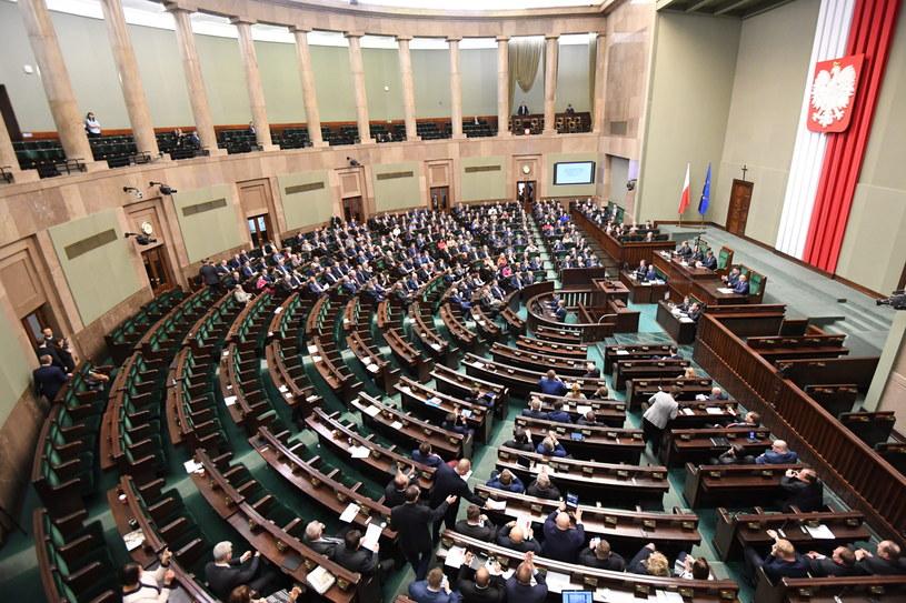 Marszałek Sejmu Marek Kuchciński ogłosił przerwę w posiedzeniu do 25 stycznia do godz. 9. /Bartłomiej Zborowski /PAP