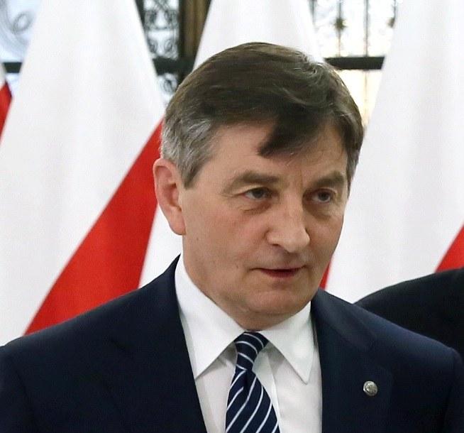 Marszałek Sejmu Marek Kuchciński /Tomasz Gzell /PAP