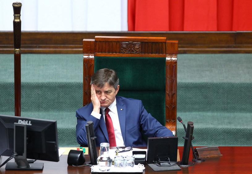 Marszałek Sejmu Marek Kuchciński /Stanisław Kowalczuk /East News