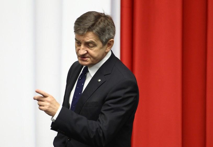 Marszałek Sejmu Marek Kuchciński / Stanislaw Kowalczuk /East News