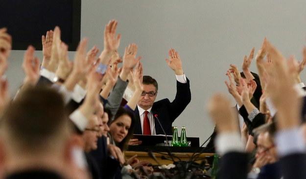 Marszałek Sejmu Marek Kuchciński. / Tomasz Gzell    /PAP