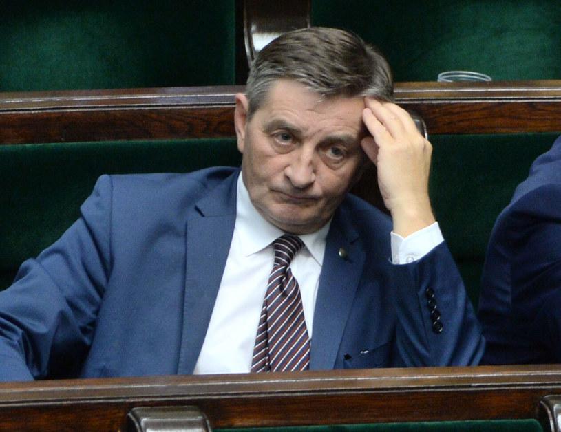 Marszałek Sejmu Marek Kuchciński /Jacek Turczyk /PAP