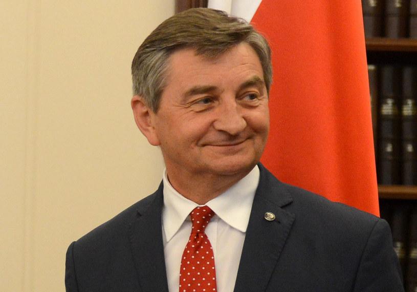 Marszałek Sejmu Marek Kuchciński / Jakub Kamiński    /PAP