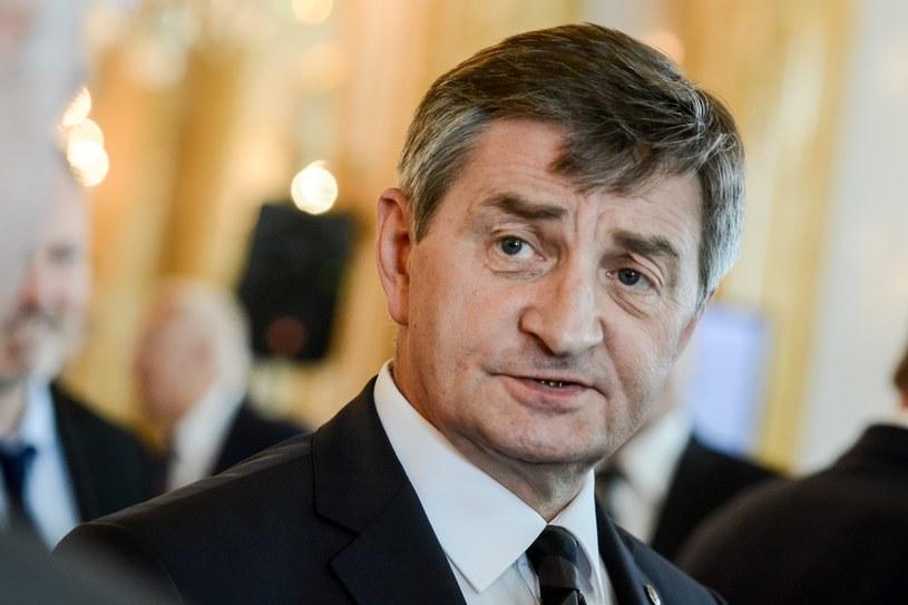 Marszałek Sejmu Marek Kuchciński /Mariusz Gaczyński /East News