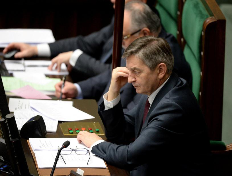 Marszałek Sejmu Marek Kuchciński /Jan Bielecki /East News