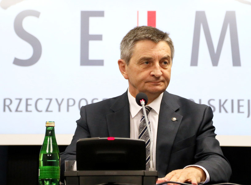 Marszałek Sejmu Marek Kuchciński /Jakub Kamiński   /East News