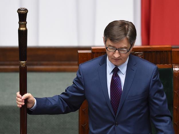 Marszałek Sejmu Marek Kuchciński /PAP