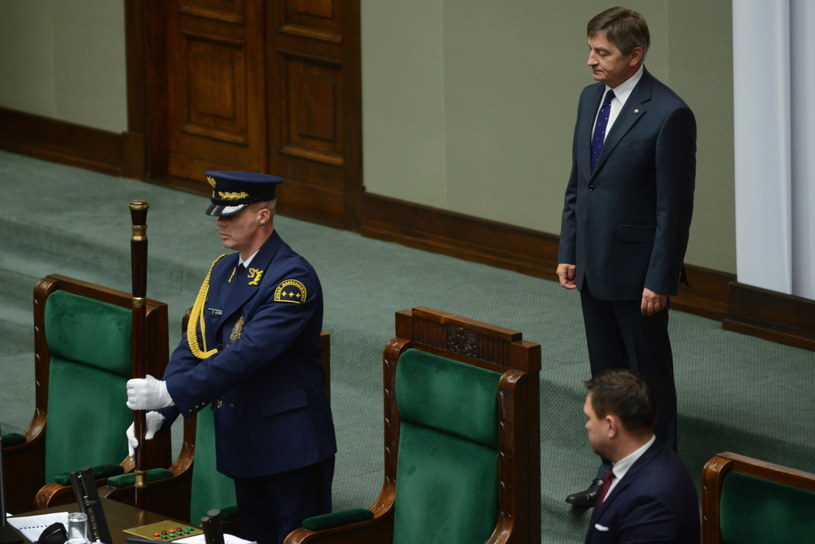 Marszałek Sejmu otwiera posiedzenie /Jakub Kamiński   /PAP