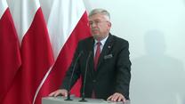 Marszałek Senatu o skardze na Polskę do TSUE: Spodziewaliśmy się tego, ale jestem przekonany, że zostanie odrzucona