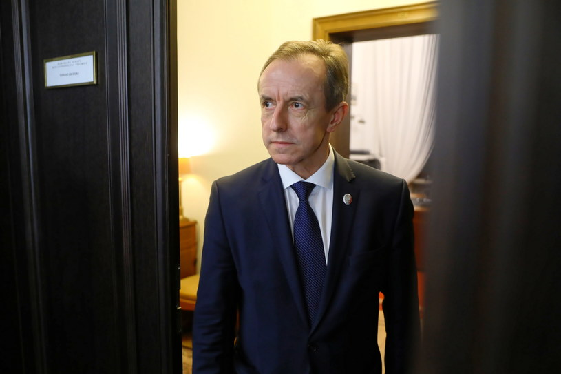 Marszałek Senatu prof. Tomasz Grodzki /Rafał Guz /PAP