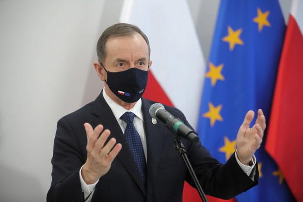 Marszałek Senatu prof. Tomasz Grodzki /Wojciech Olkuśnik /PAP