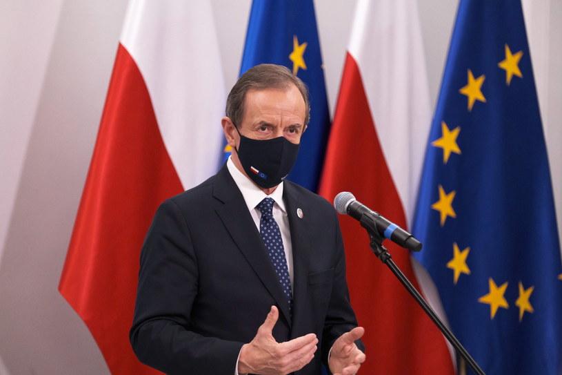 Marszałek Senatu RP Tomasz Grodzki /Mateusz Marek /PAP