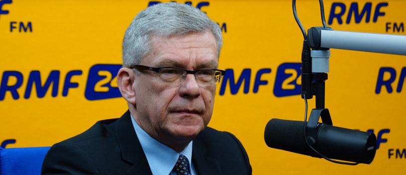 Marszałek Senatu Stanisław Karczewski /Maciej Dukaczewski /RMF