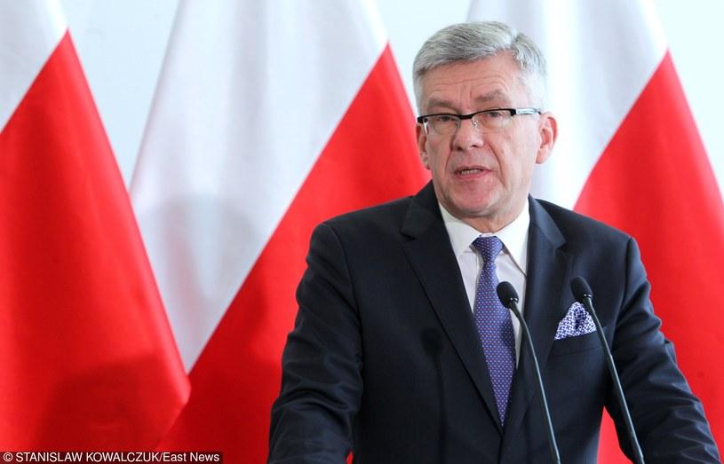 Marszałek Senatu Stanisław Karczewski /STANISLAW KOWALCZUK /East News