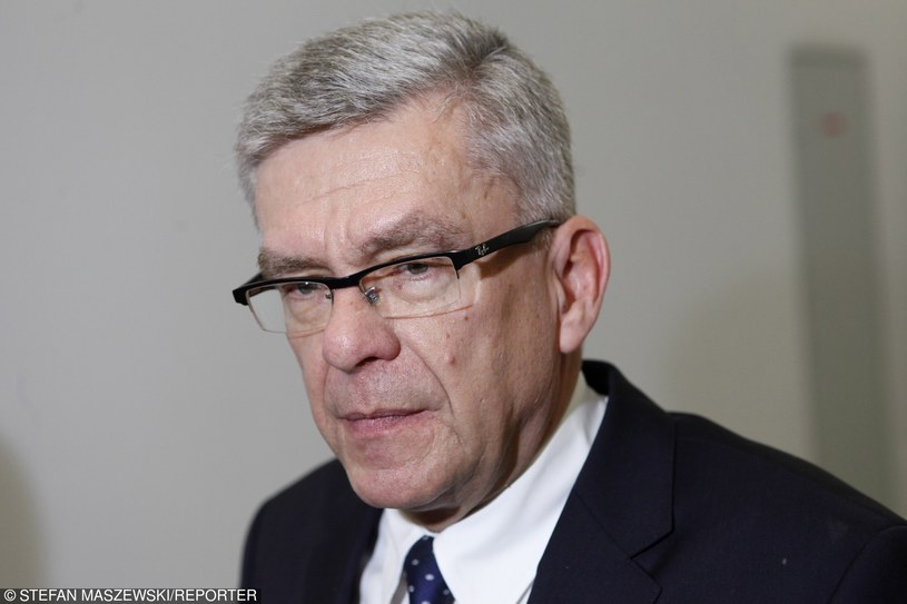 Marszałek Senatu Stanisław Karczewski /STEFAN MASZEWSKI/REPORTER /East News