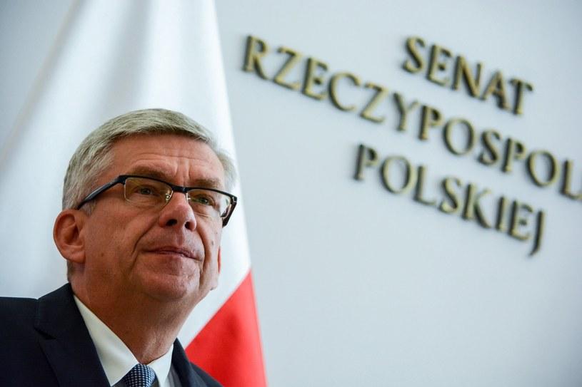 Marszałek Senatu Stanisław Karczewski /Mariusz Gaczyński /East News