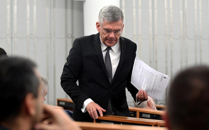 Marszałek Senatu Stanisław Karczewski /Bartłomiej Zborowski /PAP