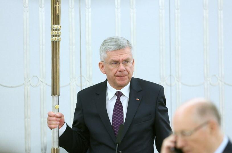 Marszałek Senatu Stanisław Karczewski /Leszek Szymański /PAP