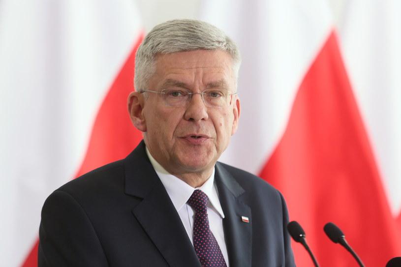 Marszałek Senatu Stanisław Karczewski /Jakub Kamiński   (PAP) /PAP