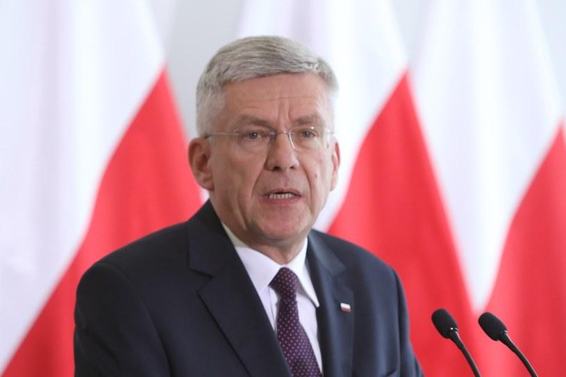 Marszałek Senatu Stanisław Karczewski. /Stanisław Kowalczuk /East News
