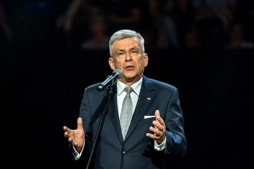 Marszałek Senatu Stanisław Karczewski /Tytus Żmijewski /PAP