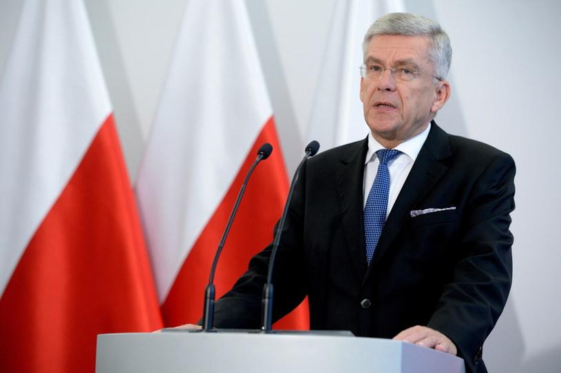Marszałek Senatu Stanisław Karczewski /Jacek Turczyk /PAP