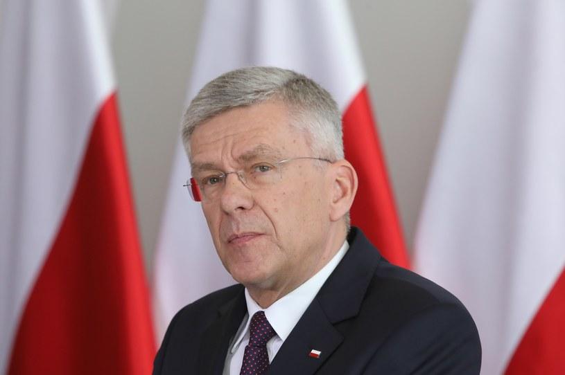 Marszałek Senatu Stanisław Karczewski /Stanisław Kowalczuk /East News