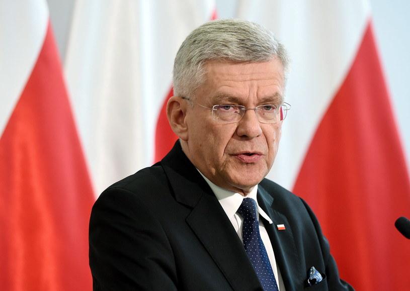 Marszałek Senatu Stanisław Karczewski /Radek Pietruszka /PAP