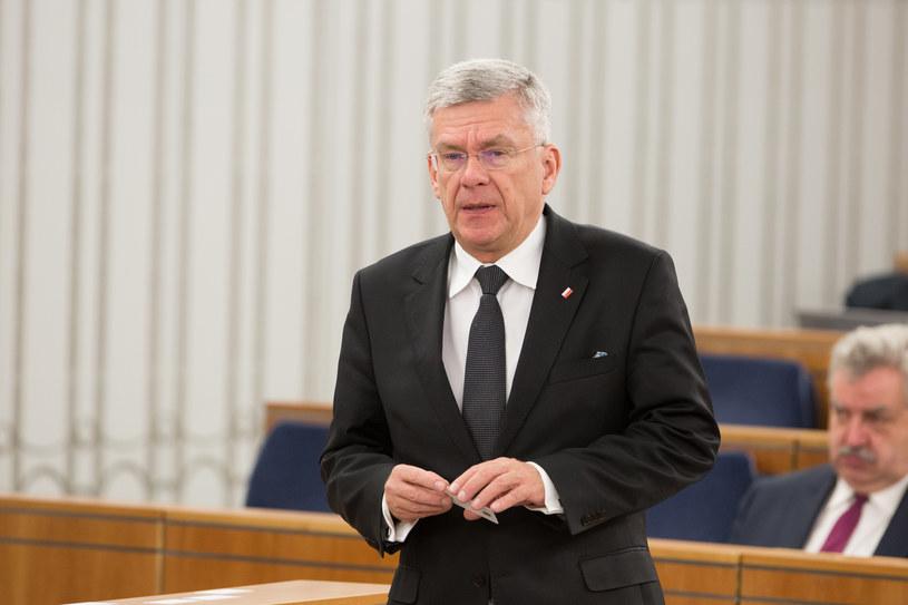 Marszałek Senatu Stanisław Karczewski /Mateusz Włodarczyk /Agencja FORUM