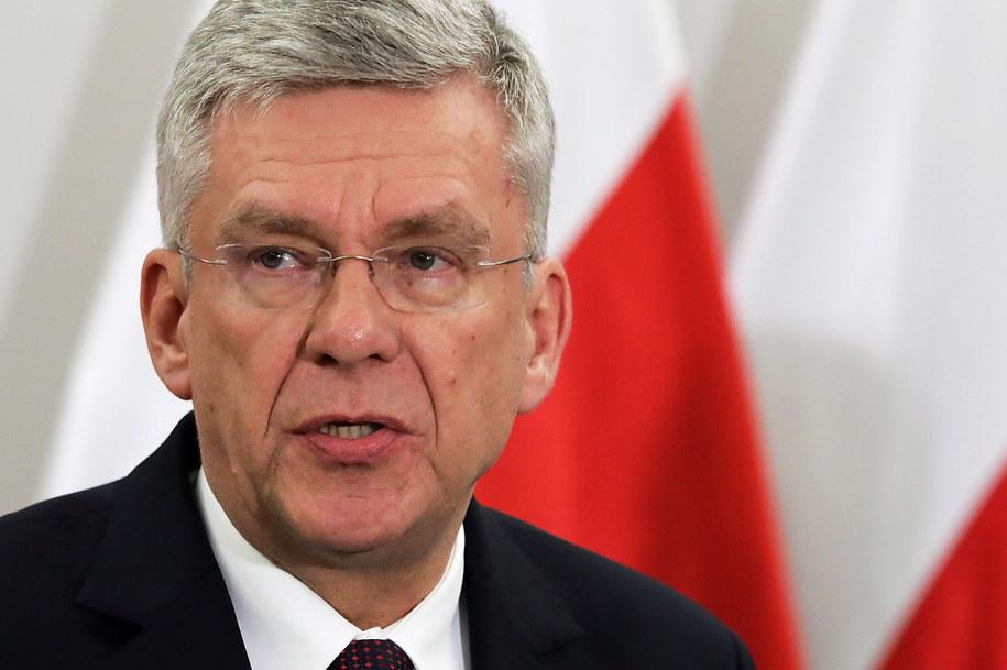 Marszałek Senatu Stanisław Karczewski. /Tomasz Gzell /PAP