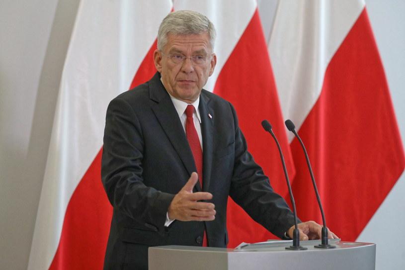 Marszałek Senatu Stanisław Karczewski /Tomasz Gzell   /PAP