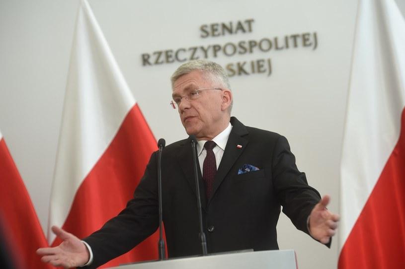 Marszałek Senatu Stanisław Karczewski /Zbyszek Kaczmarek /Reporter