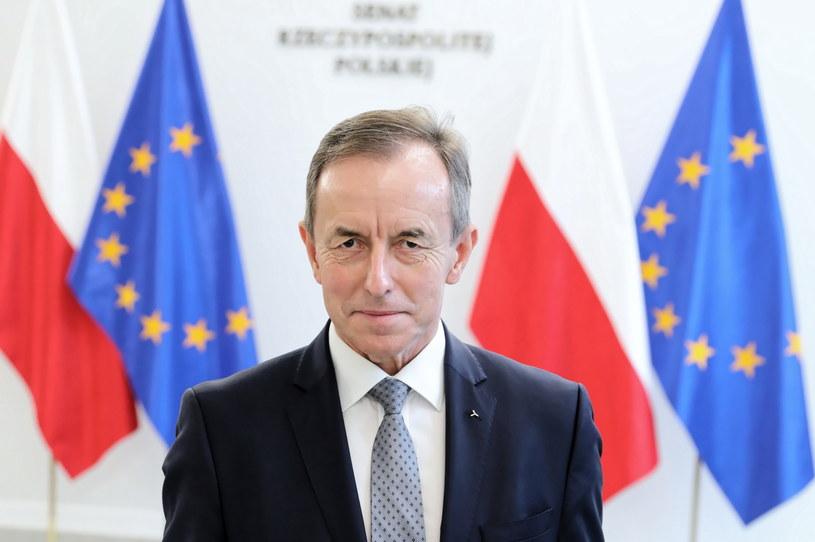 Marszałek Senatu Tomasz Grodzki / Leszek Szymański    /PAP