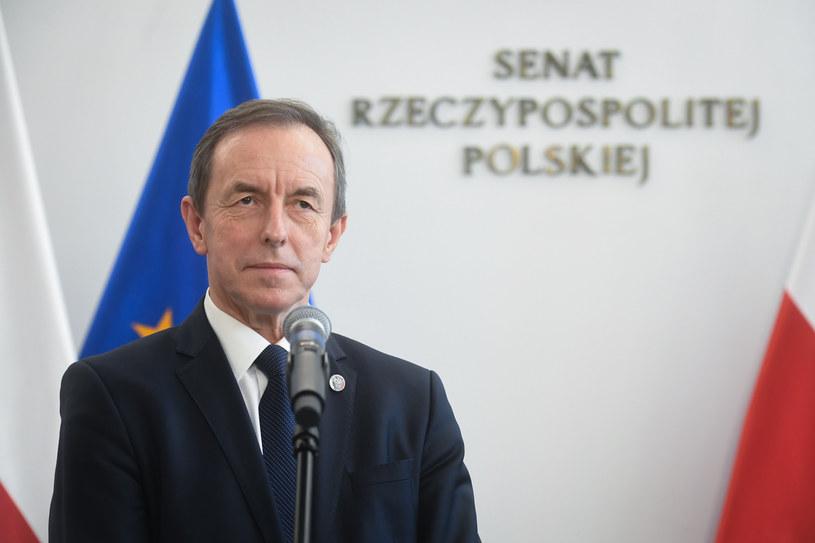 Marszałek Senatu Tomasz Grodzki /Jacek Dominski/ /Reporter
